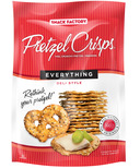 Pretzel Crisps Everything Deli Style