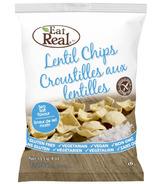Eat Real Lentil Chips Sea Salt
