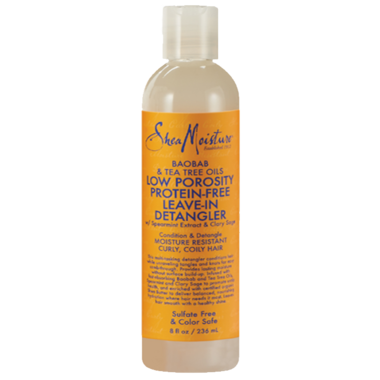 Shea Moisture Baobab & Tea Tree Low Porosity Leave-In Detangler