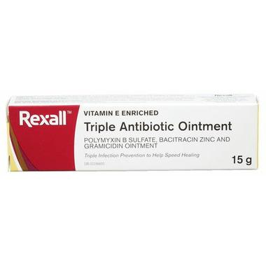 Rexall Triple Antibiotic Ointment