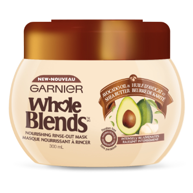 Garnier Whole Blends Avocado Oil Shea Butter Nourishing Mask