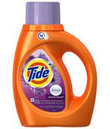 Tide Plus Febreze Freshness Liquid Laundry Detergent HE Compatible