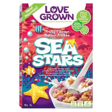 Love Grown Foods Sea Stars Cereal
