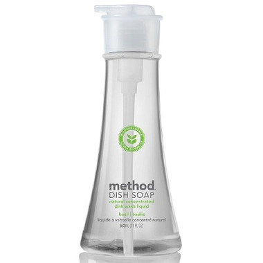 Method Dish Soap Pump in Basil