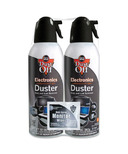 Dust-Off Electronics Compressed-Gas Duster 2 PACK