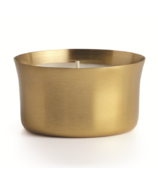 Illume Winter White Demi Radiant Metal Candle
