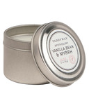 Paddywax Blue Apothecary Travel Tin Vanilla Bean & Myrrh Candle