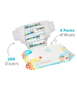 The Honest Company Size 1 Diapers & Wipes Bundle