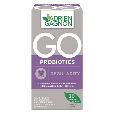 Adrien Gagnon Go Probiotics Regularity