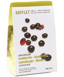 Dufflet Small Indulgences Dark Chocolate Cranberries & Blueberries