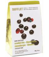 Dufflet Small Indulgences Dark Chocolate Cranberries & Blueberries