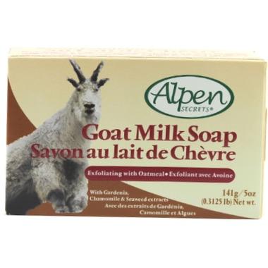 Alpen Secrets Exfoliating Goat Milk Soap