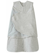 Halo 100% Cotton SleepSack Swaddle Heather Gray