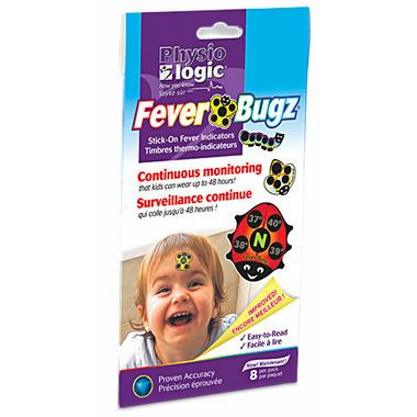 Physio Logic Fever-Bugz Stick-On Fever Indicators