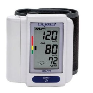 Life Source Digital Wrist Blood Pressure Monitor