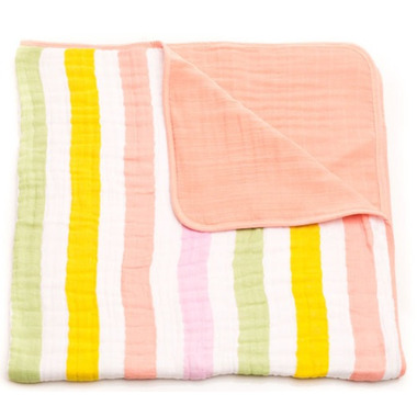 Little Unicorn Cotton Muslin Quilt Cabana Stripe