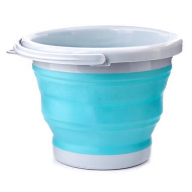 Kikkerland Collaspsible Bucket Aqua