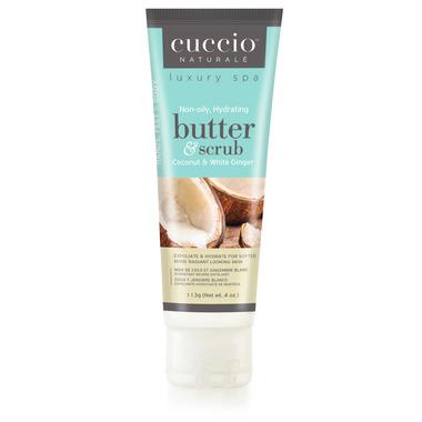 Cuccio Naturale Hydrating Body Butter & Scrub Coconut & White Ginger