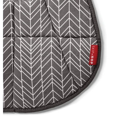 Skip Hop Stroll & Go Cool Touch Stroller Liner Grey Feather
