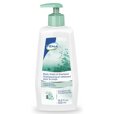TENA Body Wash & Shampoo