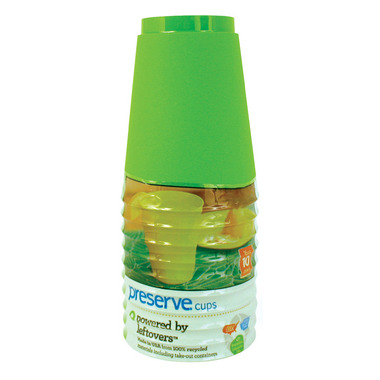 Preserve On The Go Cups Apple Green