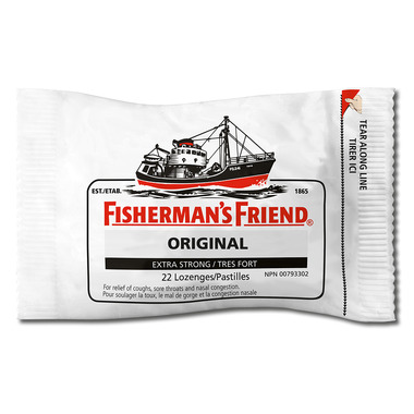 Fisherman\'s Friend Original Extra Strong Lozenges