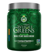 Ergogenics Nutrition Organic Whole Greens Powder