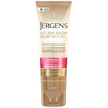 Jergens Natural Glow Daily Moisturizer +Nourish