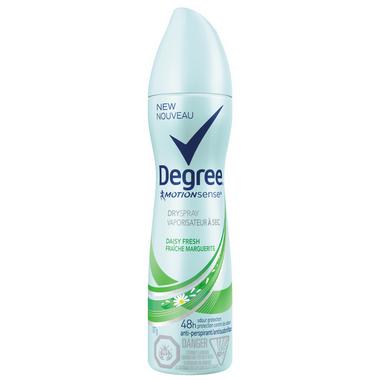 Degree Women Daisy Fresh Dry Spray Antiperspirant
