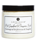 Lovefresh Pink Grapefruit & Tangerine Sugar Scrub