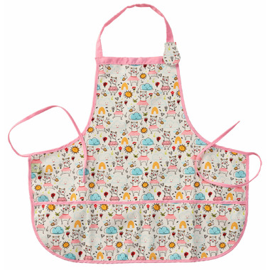 Sugarbooger Kiddie Apron Clementine the Bear
