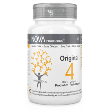 NOVA Probiotics Original 4 Billion CFU