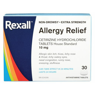 Rexall Extra Strength Allergy Relief