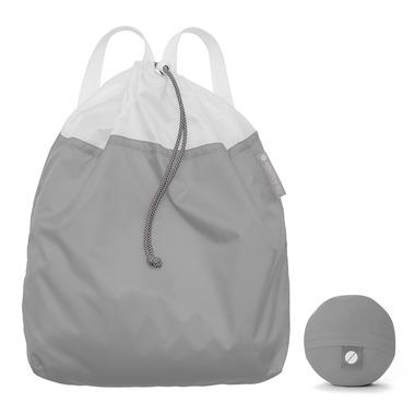 flip & tumble Drawstring Backpack Grey