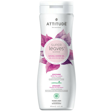 ATTITUDE Super Leaves Natural Shower Gel Soothing