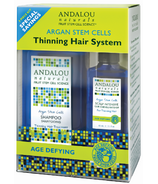 ANDALOU naturals Argan Stem Cell Age Defying 3 Step System Kit