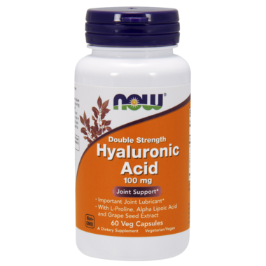 NOW Foods Double Strength Hyaluronic Acid