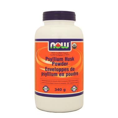 NOW Foods Organic Psyllium Husk Powder