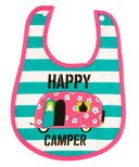 Little Blue House Infant Coated Bib Glamping