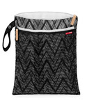 Skip Hop Grab & Go Wet/Dry Bag Zig Zag Zebra