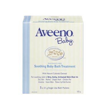 Aveeno Baby Soothing Bath Treatment