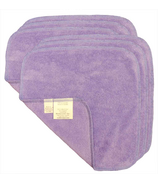 Motherease Cotton Baby Wipes Purple