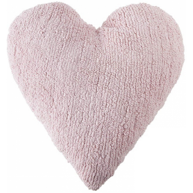 Lorena Canals Washable Cushion Pink Heart