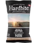 Hardbite Handcrafted Sea Salt & Pepper Chips