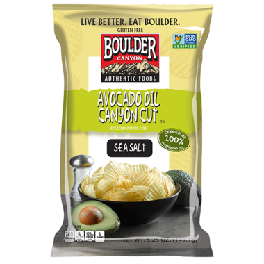Boulder Canyon Cut Chips Avocado Oil with Sea Salt