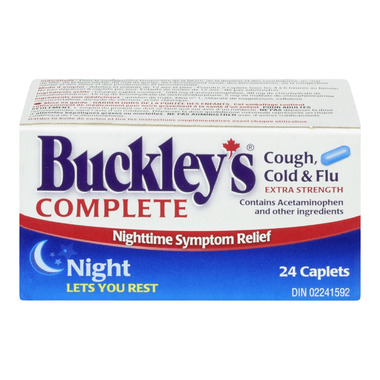 Buckley\'s Complete Extra Strength Night Time Caplets