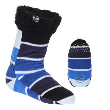 Kombi The Shepa Fleece Sock True Blue Colour Fan
