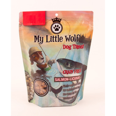 Waggers My Litte Wolf Grain Free Dog Treat Salmon-Licious