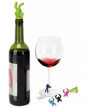 Umbra Drinking Buddy Wine Charms & Stopper Set
