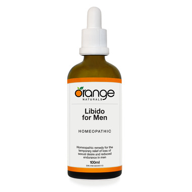 Orange Naturals Homeopathic Libido for Men Drops